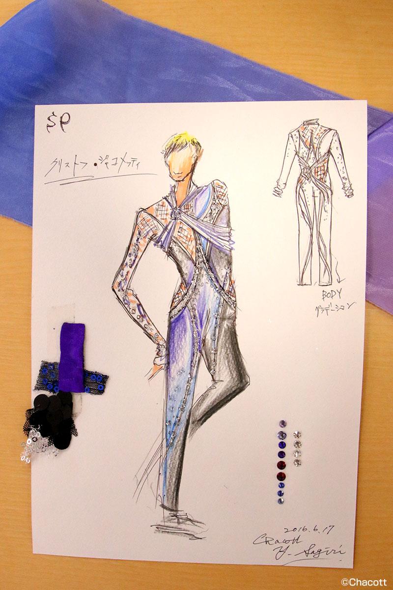 Behind The Scenes Of Yuri On Ices Costume Design 5 Sakuga Blog