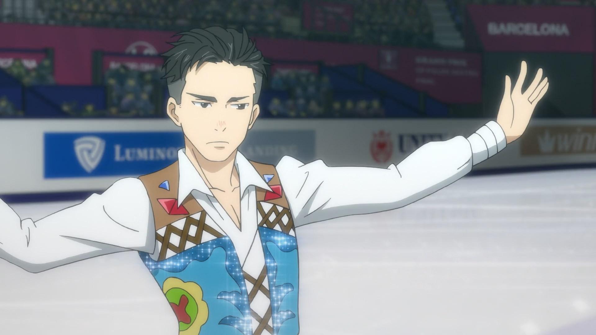 yuri on ice minami