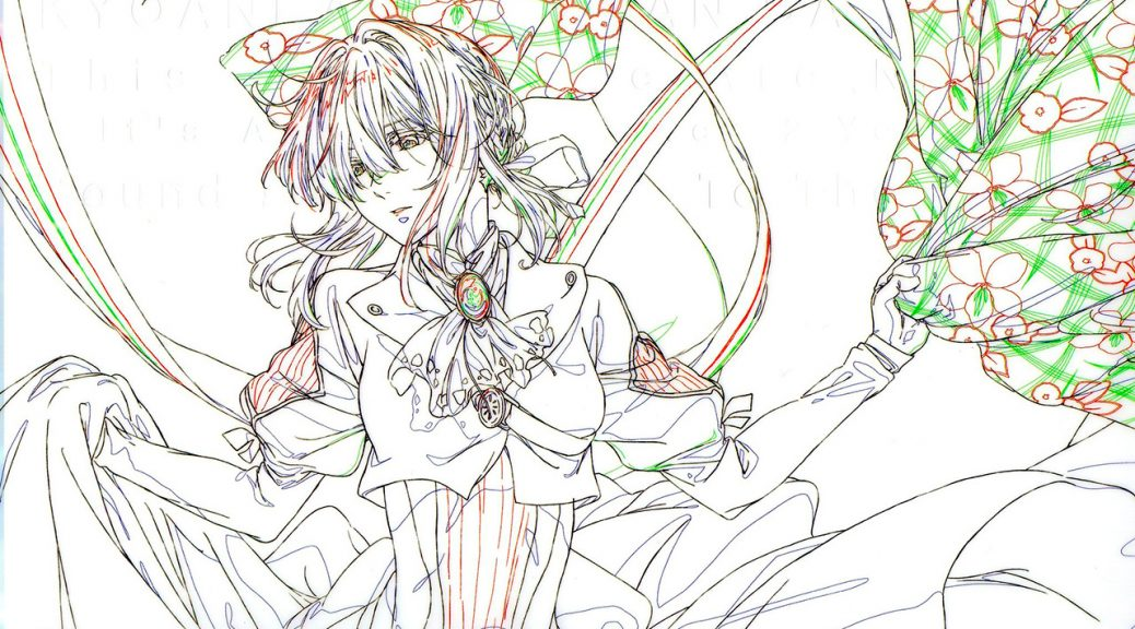 Concept Art Violtet Evergarden