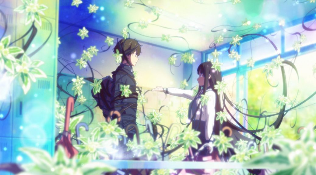 Hyouka Roundtable: Yasuhiro Takemoto x Shouji Gatou, Otona Animedia #5 2012  (Part 1) – Sakuga Blog