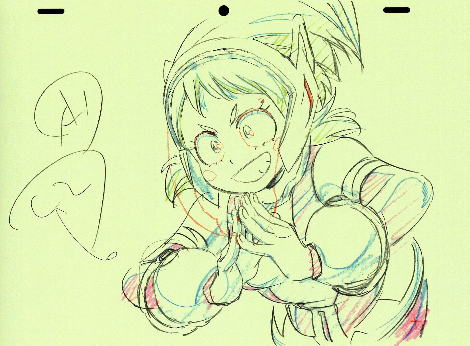 Arts Of Yoshihiko Umakoshi Animation Key Frame My Hero Book Vol.2