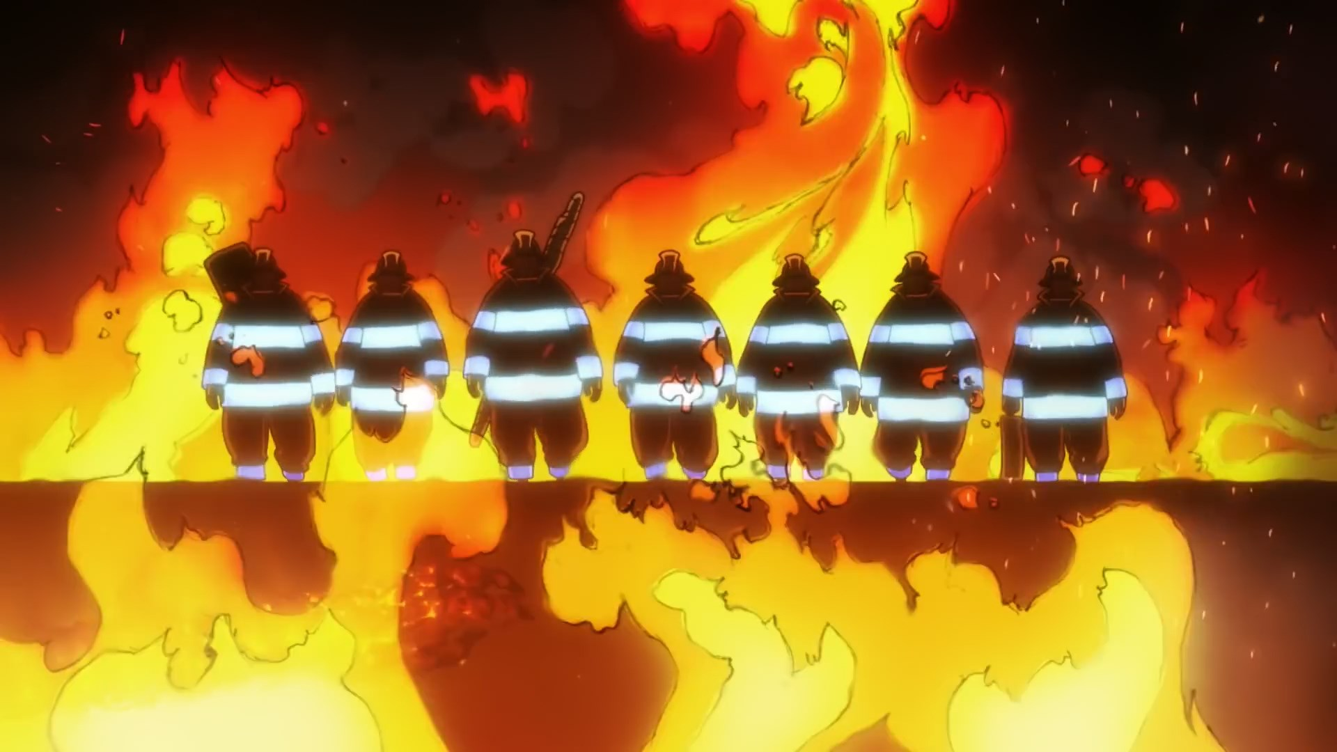 Fire Force The Backstory Of A Dazzling Production Sakuga Blog This is no ordinary fire that will blaze across your desktop. fire force the backstory of a dazzling